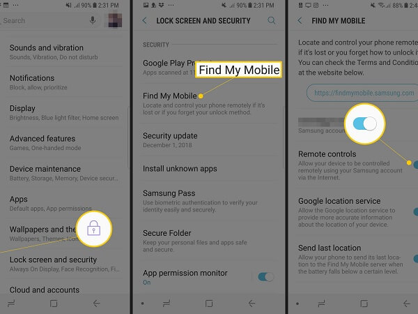 enable location services android 15