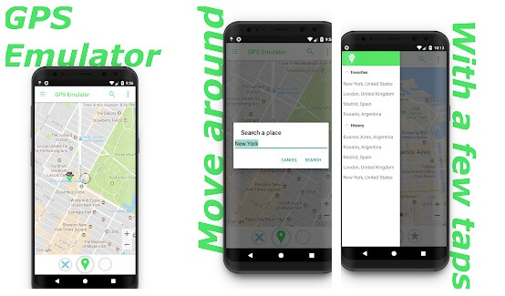 fake gps mock location android 7