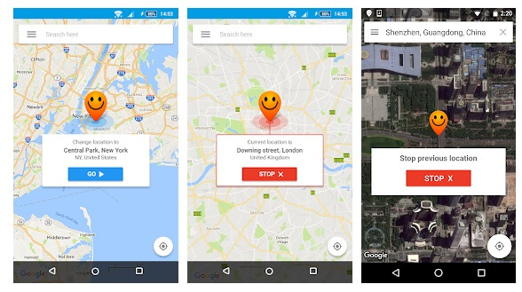 fake gps mock location android 9