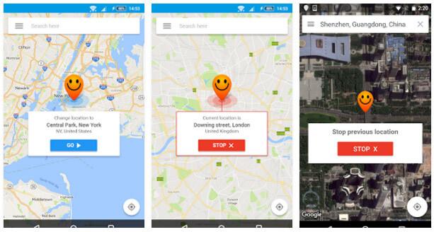 hola-fake gps location app