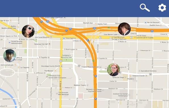 friends location