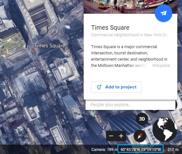 google earth address lookup 9