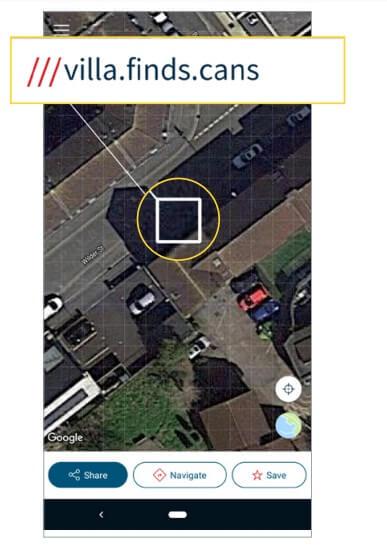 location address
