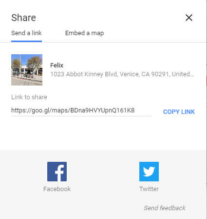 share location webpage 3