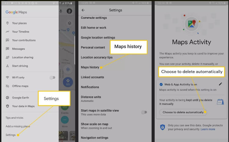turn off google location services 6