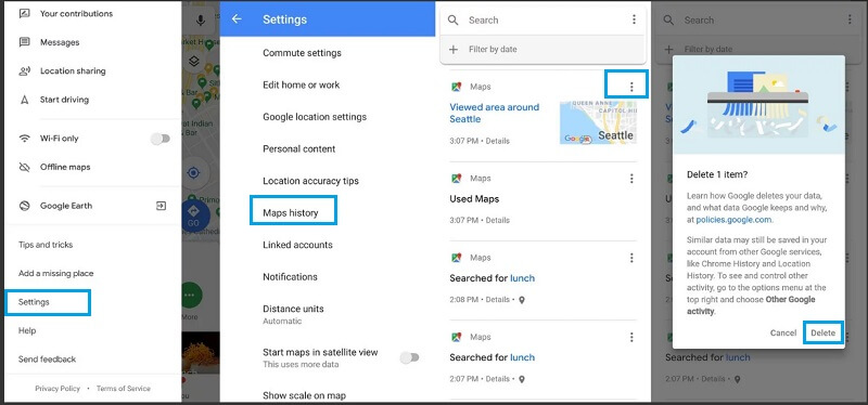 turn off google location services 7