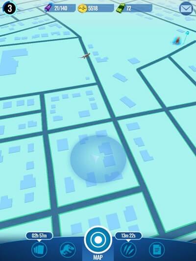 jurassic world live map