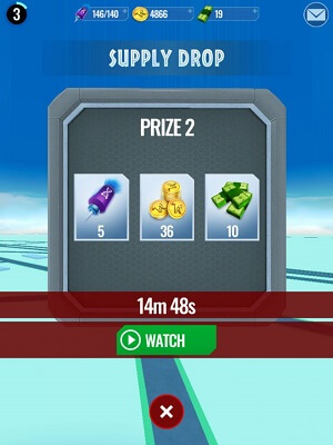 prizes in jurassic world live