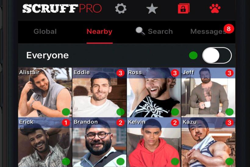 Scruff screenshot