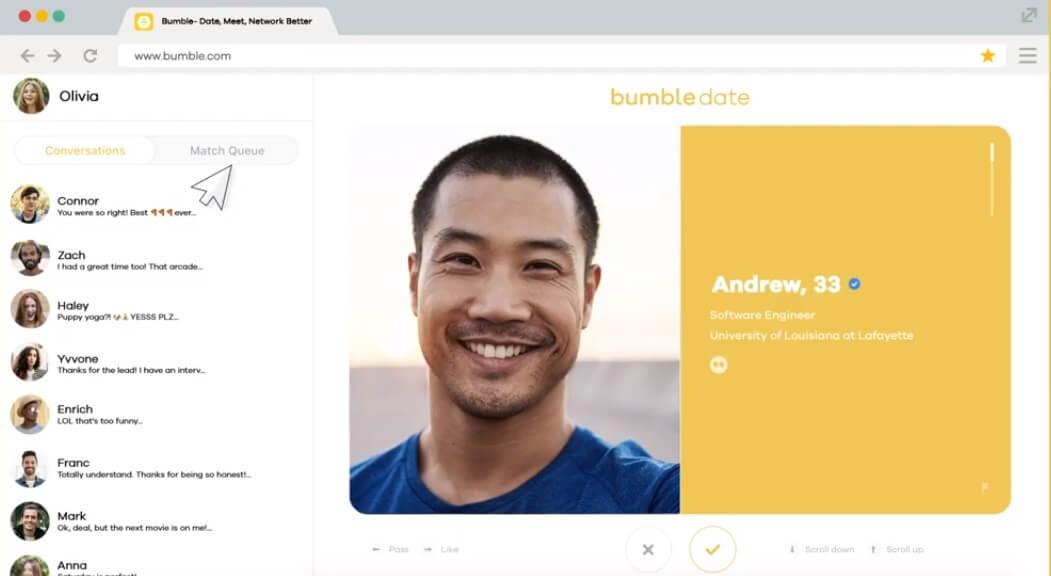 Bumble desktop 3