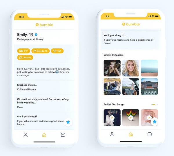 bumble profile suggestions
