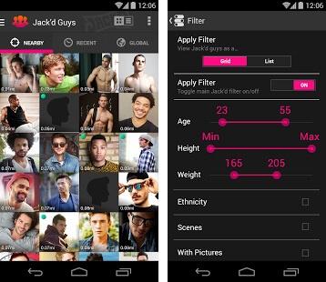 jackd app filters