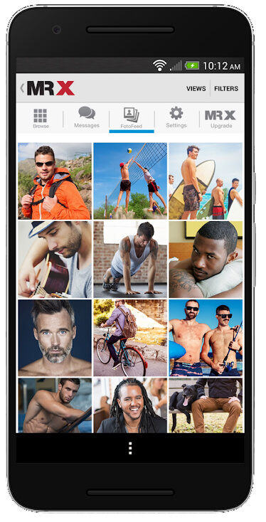 Mr. X gay dating app for great social interactions