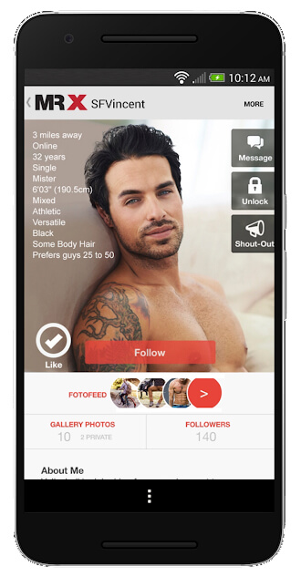 meet great gays on mr x gay dating app