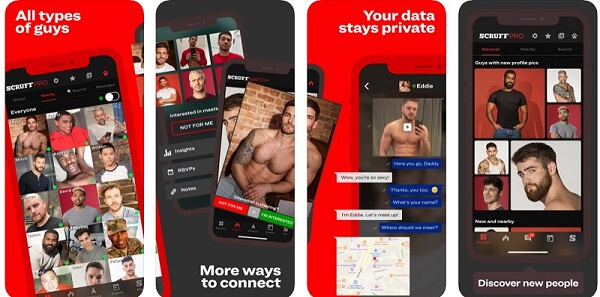 scruff app features