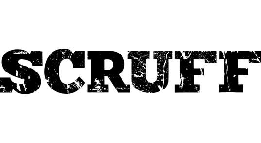scruff gay slang banner