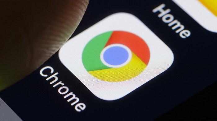 chrome app on phone