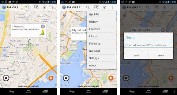 fake gps go location spoofer app