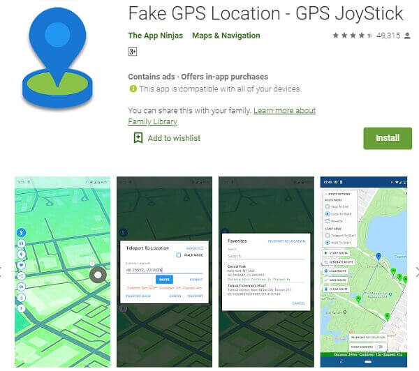 fake gps location-gps joystick