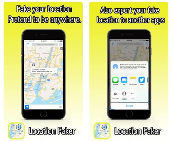 Location-faker