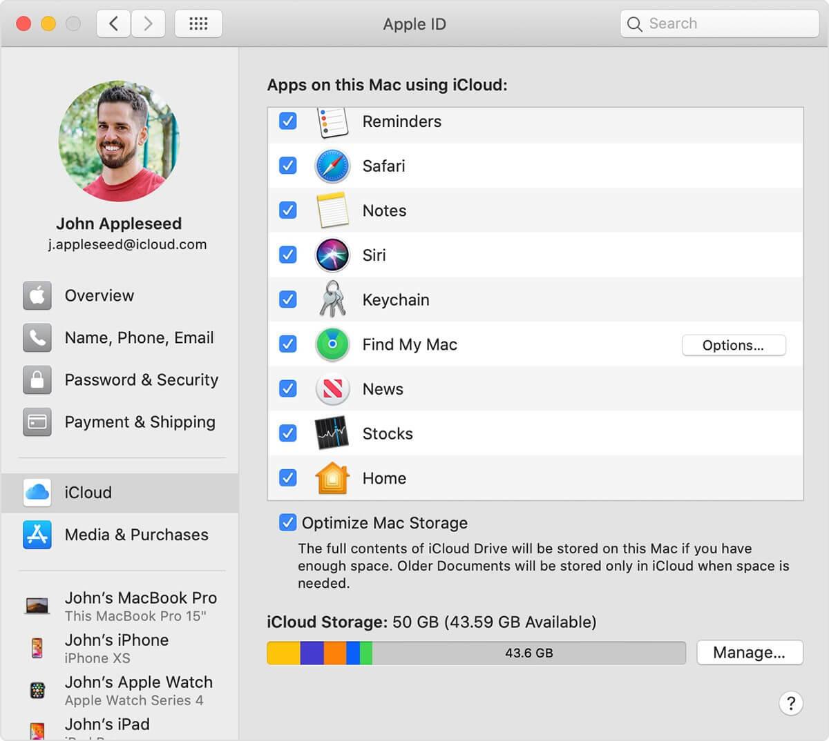 find my mac option