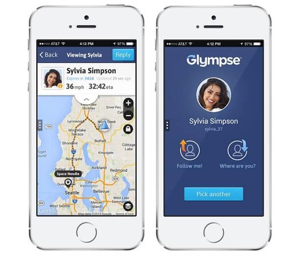 glympse app