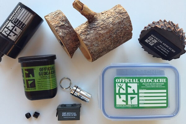types geocache containers 1