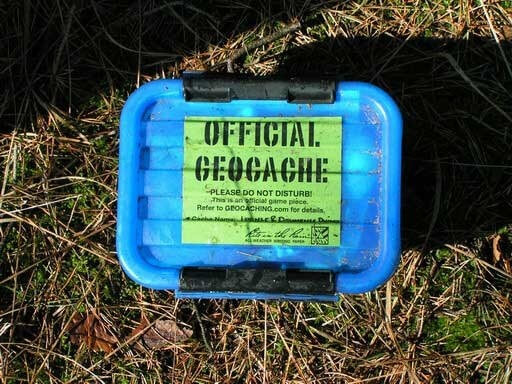 types geocache containers 12