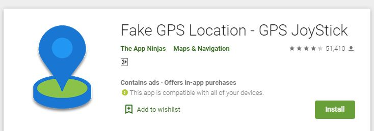 Fake GPS Joystick Price