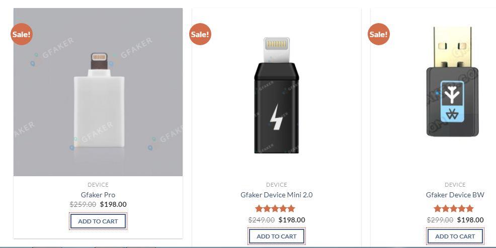GFaker GPS Joystick Price