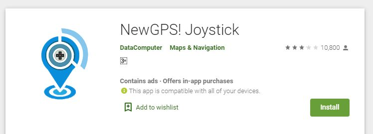 NewGPS! Joystick Price