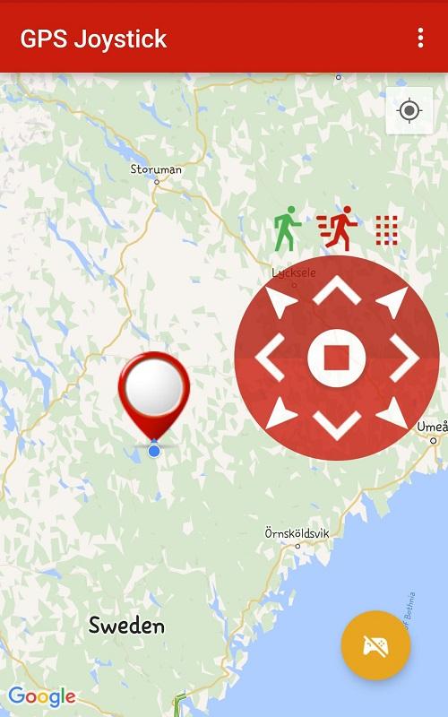 GPS Joystick Pokemon Go Mod Joystick
