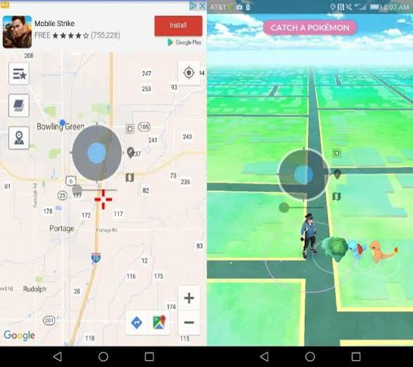 VPNa Pokemon Go Mod Joystick