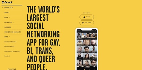 Grindr new update