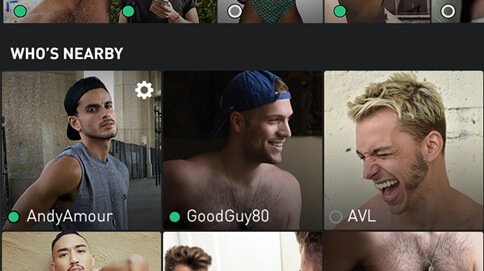 Grindr who's nearby