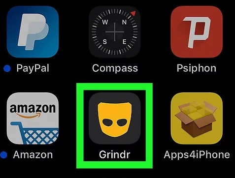 Says changed grindr credentials Credentials Change?