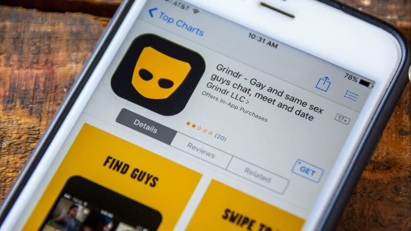 The Grindr app protects trans