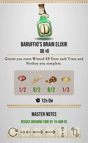 baruffio brain exilir