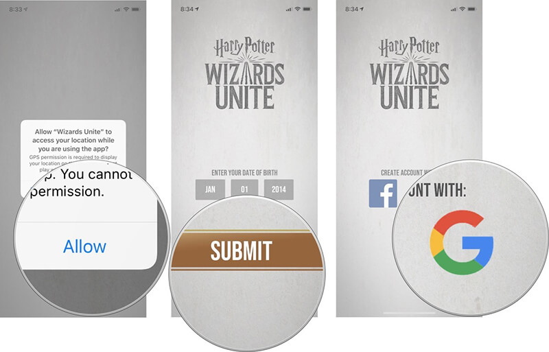 install set up harry potter wizards unite 1
