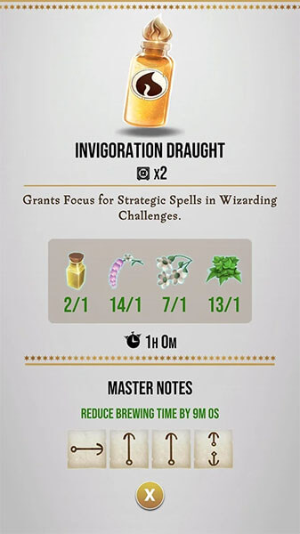 invigoration- draught