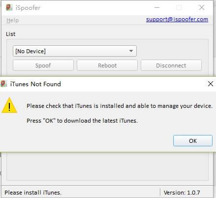 ispoofer installatin xcode
