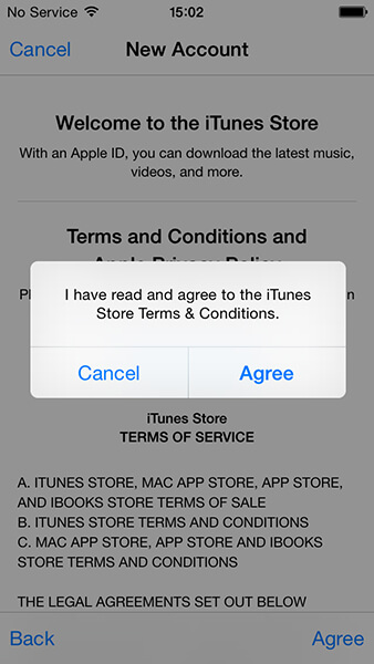 new apple id terms