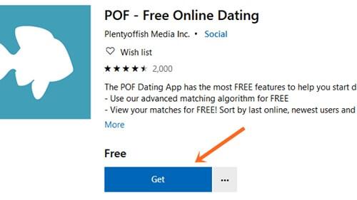 install pof app