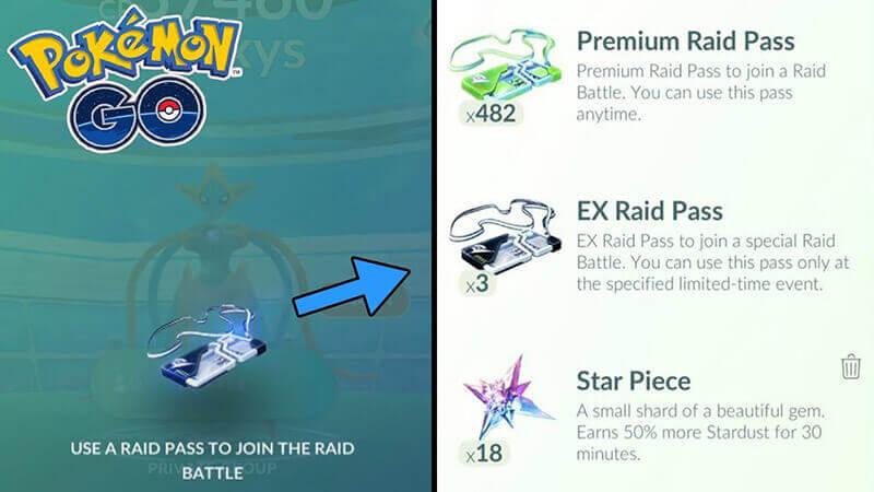 hot to achieve ex raid pass