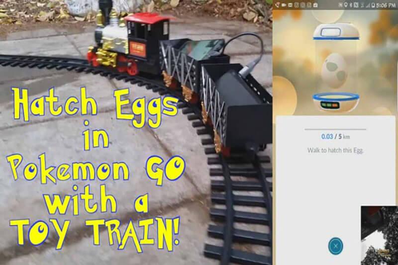 use model railboard to hatch eggs