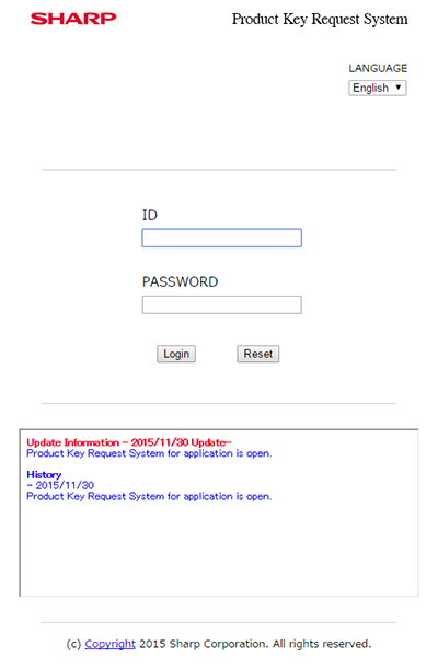 redirect to the login page