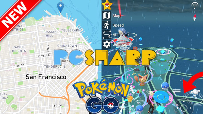pgsharp catch pokemon go game