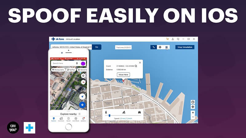 features of Dr.Fone-Virtual Location