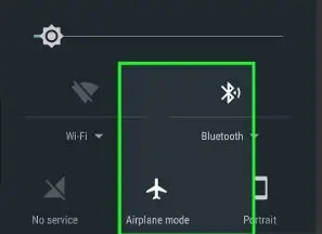 Toggle Airplane Mode to fix the GPS error