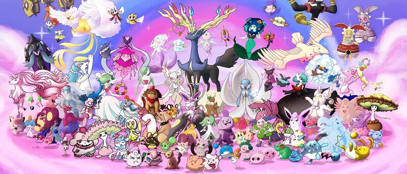 all fairy pokemons